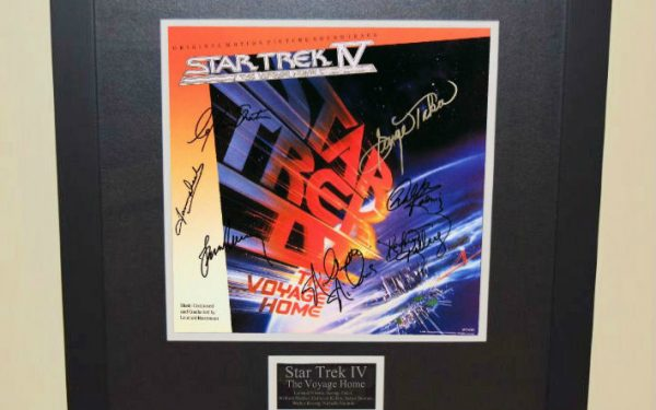 Star Trek IV (The Voyage Home) Signed Original Soundtrack