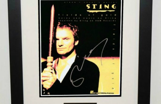 Sting – Fields Of Gold