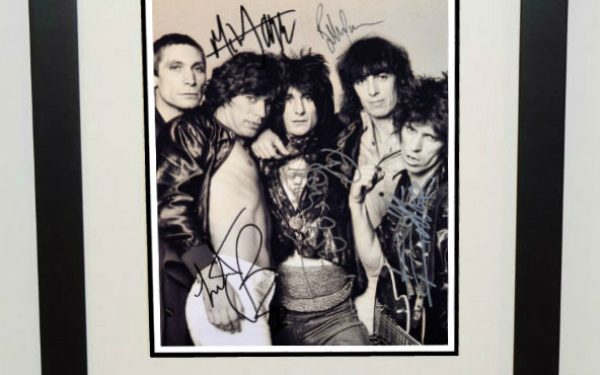 #10-The Rolling Stones Signed 8×10 Photograph