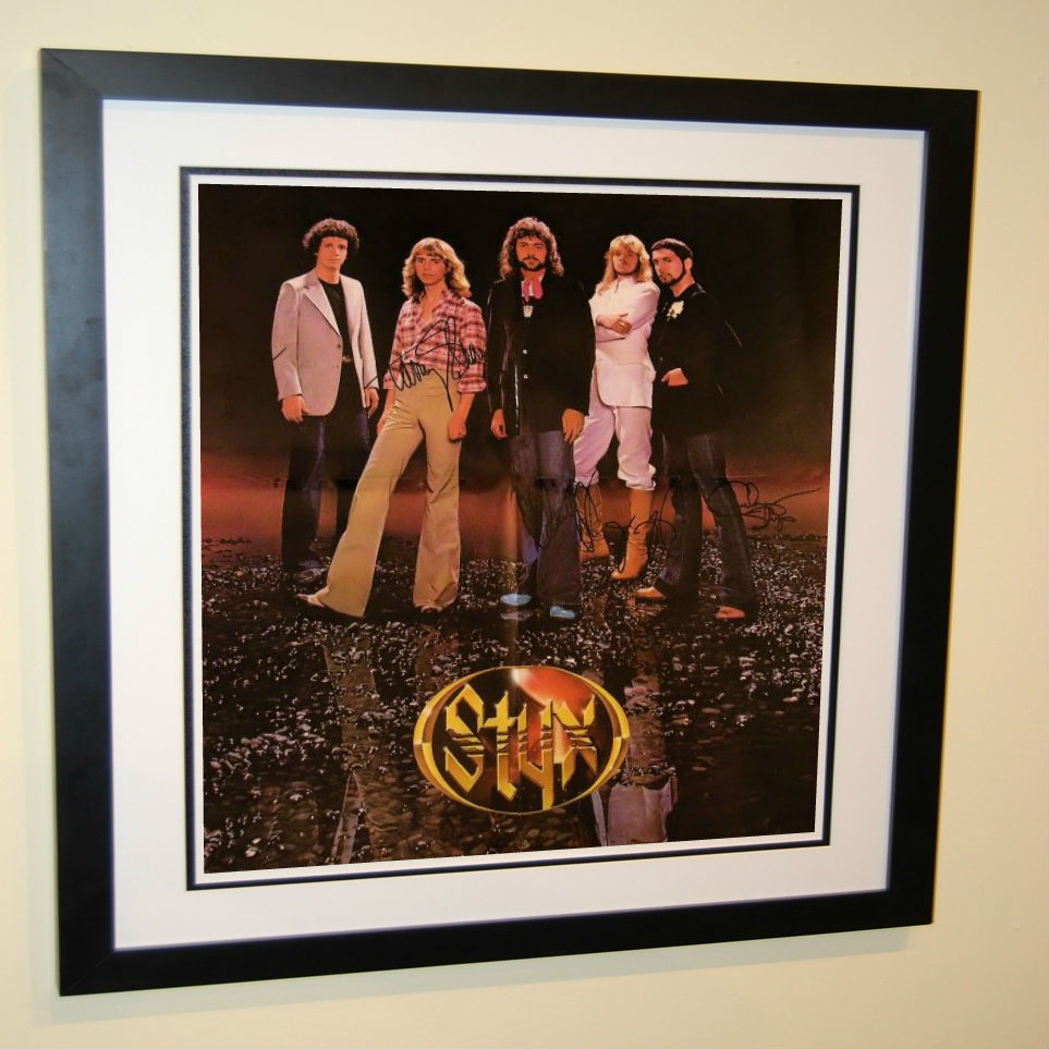 Styx Todd Sucherman Tommy Shaw Dennis Deyoung James