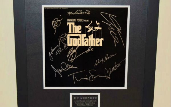 The Godfather Signed Original Soundtrack