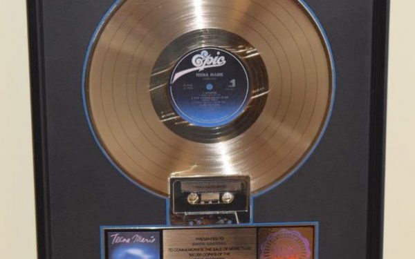Teena Marie RIAA Award For Star Child