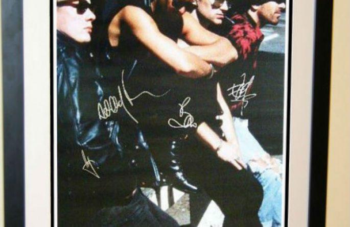 #1 U2 Signed Poster