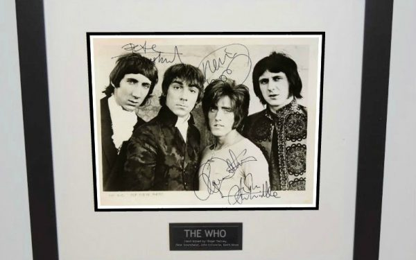 #6-Who Signed 8×10 Photograph