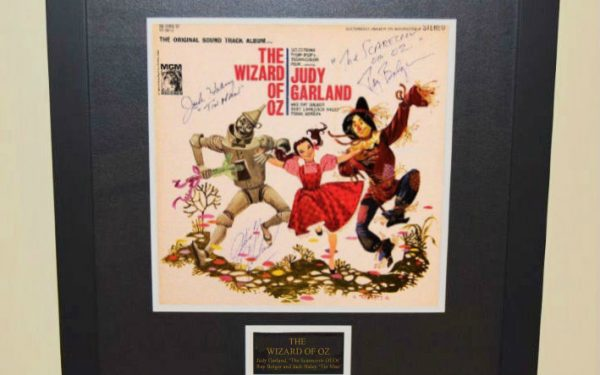 #2 The Wizard of Oz Signed Original Soundtrack