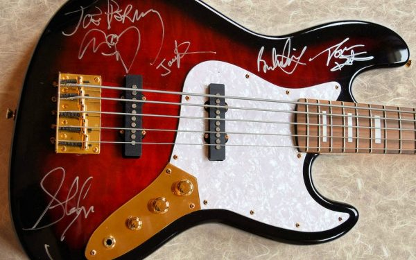 Aerosmith Signed SX Five String