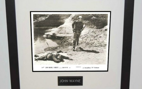#2-John Wayne Signed Photograph