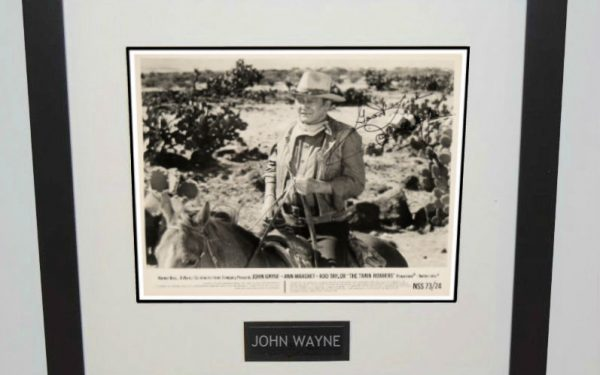 #2-John Wayne Signed 8×10 Photograph