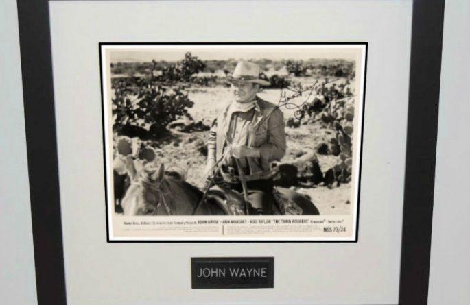 #2-John Wayne Signed 8×10 Photograph