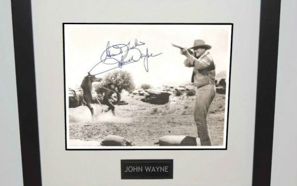 #1-John Wayne Signed Photograph