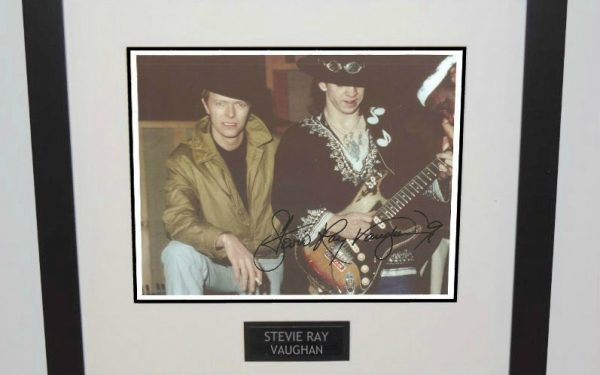 #4-Stevie Ray Vaughan Signed 8×10 Photograph
