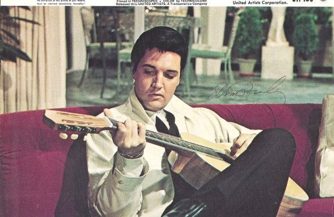 #8-Elvis Presley Signed 8×10 Photograph