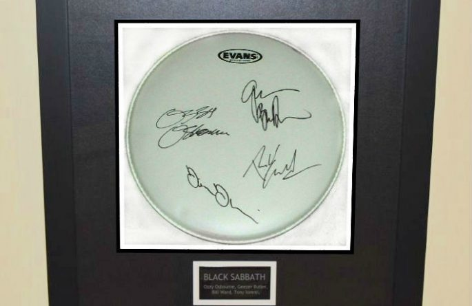 Black Sabbath – Drum Head