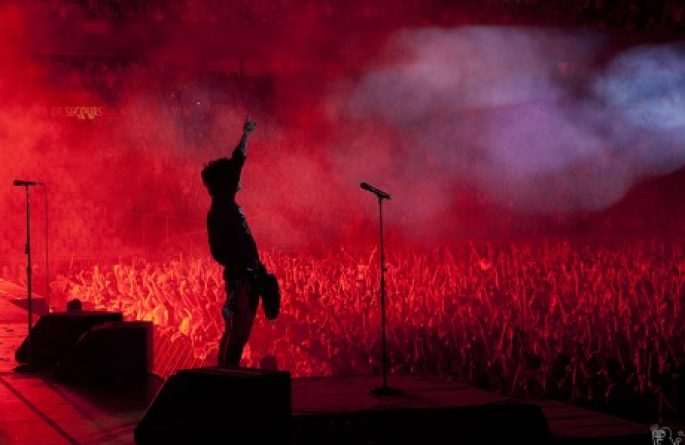 Billie Joe Armstrong, Paris, 2010