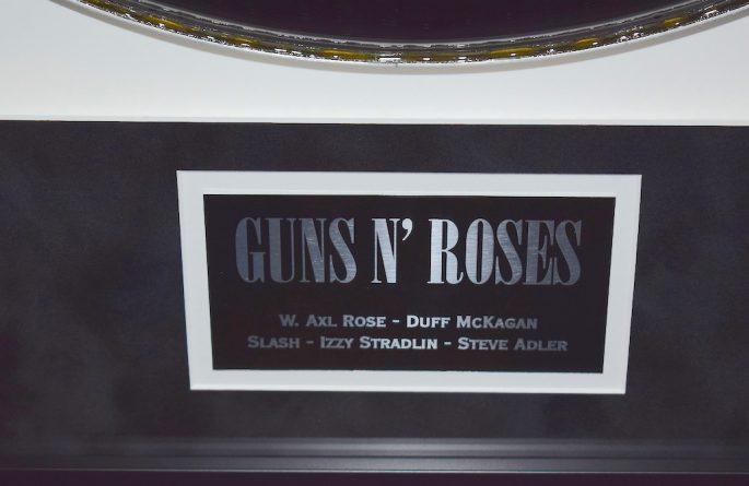 #2-Guns N' Roses – Drum Head
