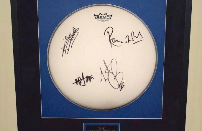 Rolling Stones – Drum Head