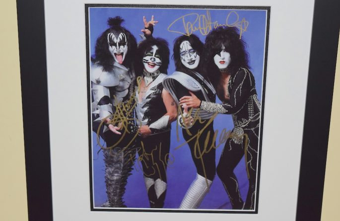 #7-Kiss Hand Signed 8×10 Photograph