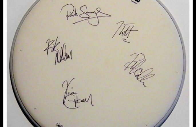 Def Leppard – Drum Head