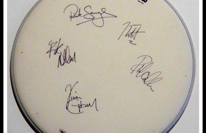 Def Leppard – Drum Head