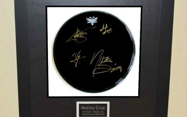 Motley Crue – Drum Head