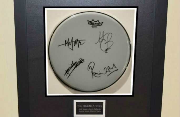 The Rolling Stones – Drum Head