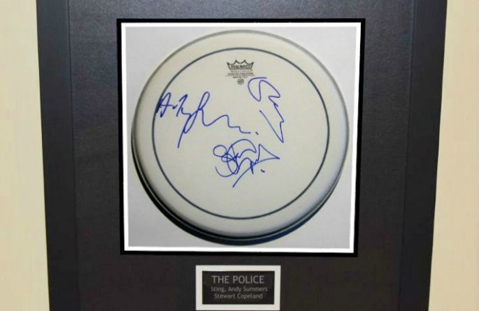 The Police – Drum Head