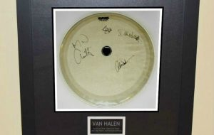 #1 Van Halen – Drum Head