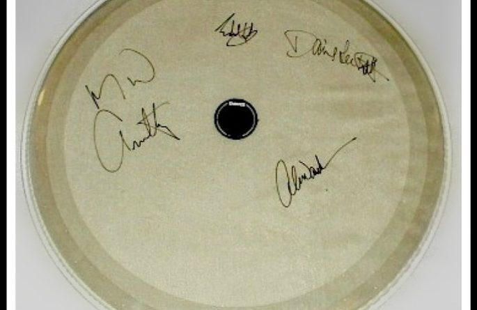 #1 Van Halen – Drum Head