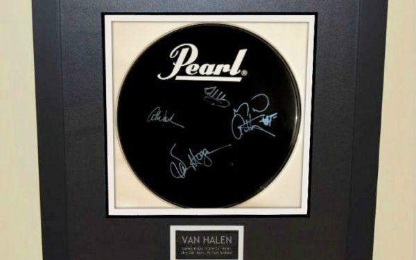 Van Halen – Pearl Bass Drum Head