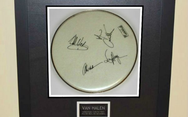 #2 Van Halen – Drum Head