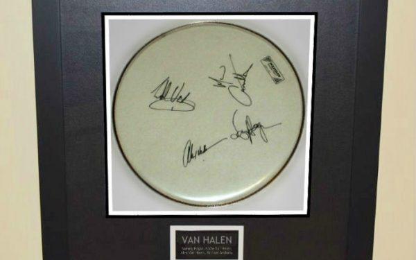 #2 Van Halen – Drum Head