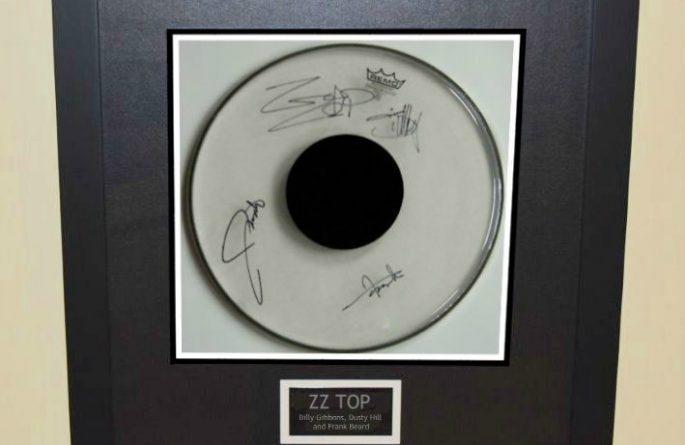 ZZ Top – Drum Head