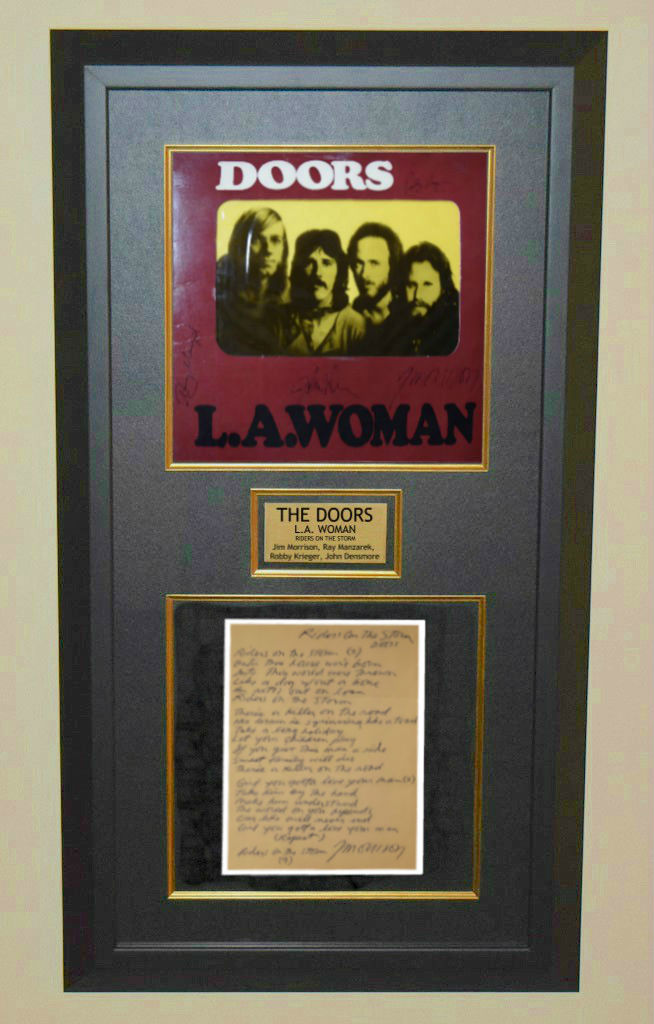Doors L A Woman Jim Morrison Ray Manzarek Robby