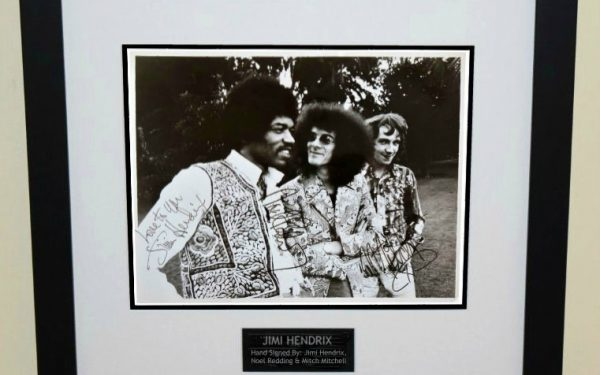 #1 Jimi Hendrix Signed 8×10 Photograph