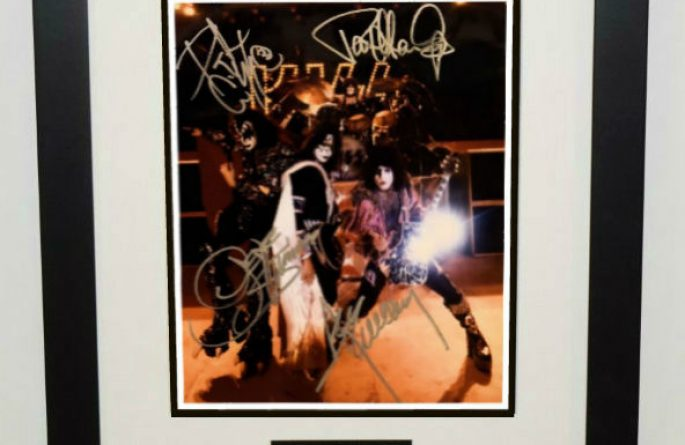 #8-Kiss Hand Signed 8×10 Photograph