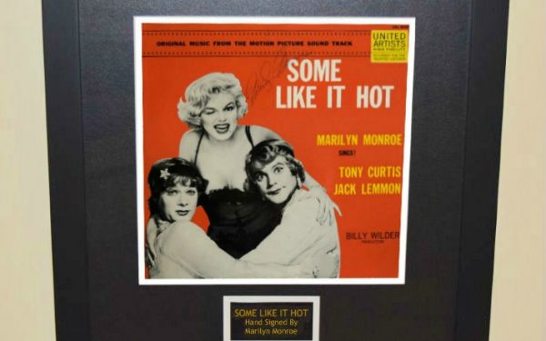 Some Like It Hot Signed Original Soundtrack