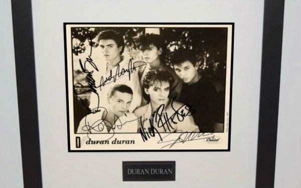 #1-Duran Duran Signed 8×10 Photograph