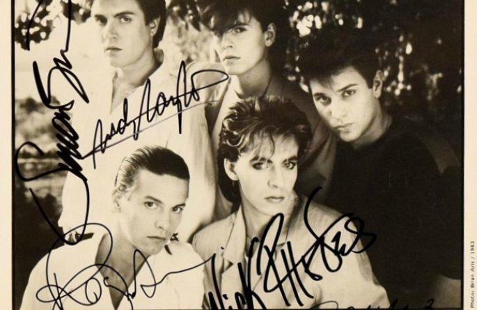 #1-Duran Duran Signed Photograph