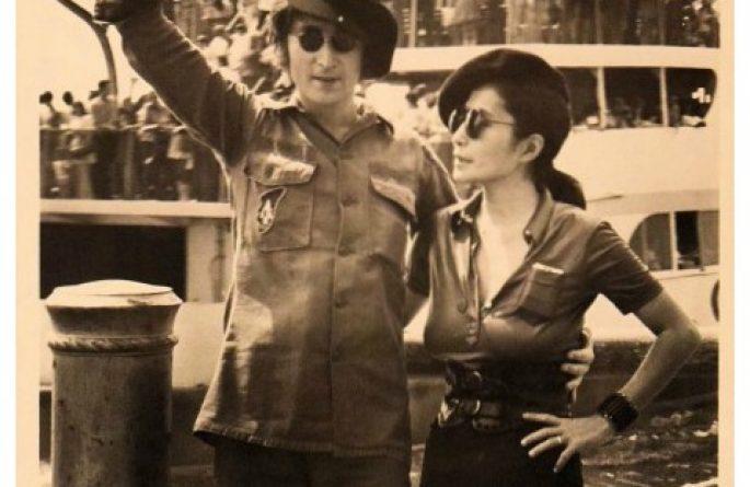 #3-John Lennon Signed 8×10 Photograph