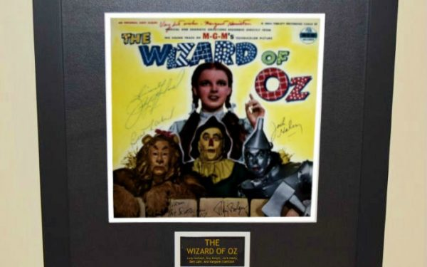 #1 The Wizard of Oz Signed Original Soundtrack