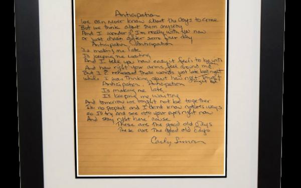 Carly Simon – Anticipation