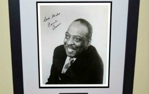Count Baise Signed 8×10 Photograph