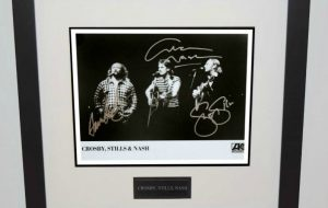 #3-Crosby, Stills, Nash Signed 8×10 Photograph