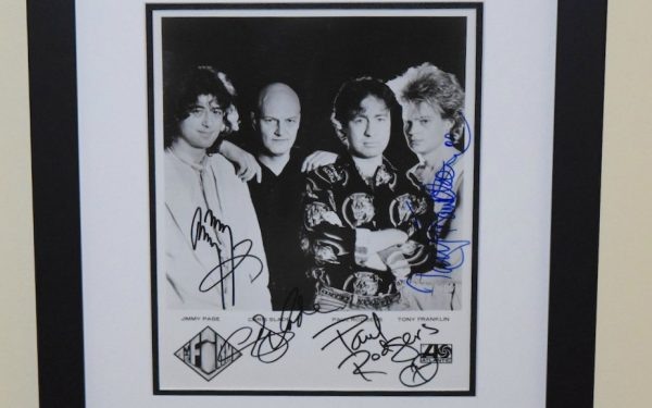 Firm Signed 8×10 Photograph