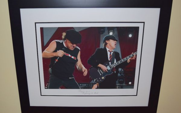#3-AC/DC Signed 16×20 Photograph