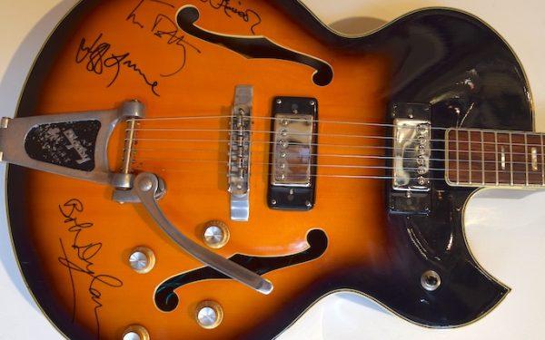 Traveling Wilburys Bigsby Electric Guitar