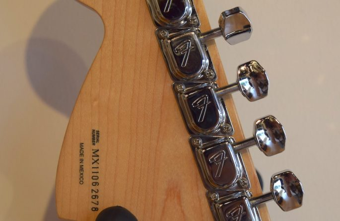 Eagles Black Fender Stratocaster