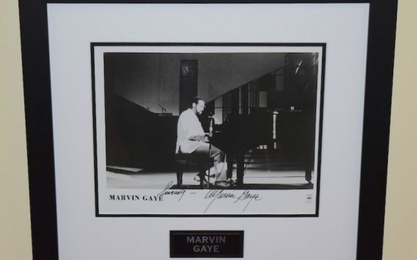 #2-Marvin Gay Signed 8×10 Photograph