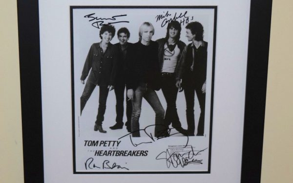 #6-Tom Petty Signed 8×10 Photograph