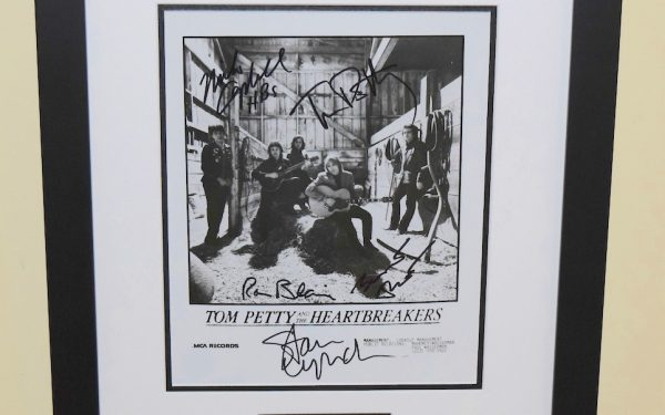 #5-Tom Petty & The Heartbreakers Signed 8×10 Photograph